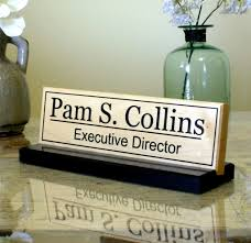 engraved desk name plates throughout glass name plate for desk real wood home office furniture