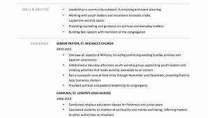 Pastoral Resumes Ministry Resumees Youth Ministere Childrens Church Simple Resume