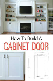Home Built Kitchen Cabinets Diy Kitchen Cabinet Door Plans