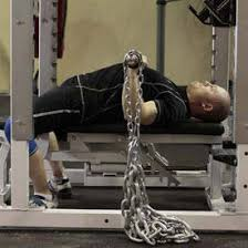 Bench Press With Chains  Exercise Videos U0026 Guides  BodybuildingcomChains Bench Press