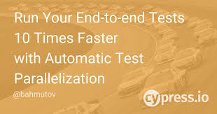 Run Your End-to-end Tests 10 Times Faster with Automatic Test ...