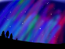 Purple Northern Lights Background Free Download Northern Lights Background 3 By Kairixox