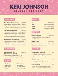 Innovative Resume Templates Customize 100 Creative Resume templates online Canva 51