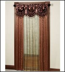 contemporary decoration curtains with valance attached enjoyable design ideas sheer home