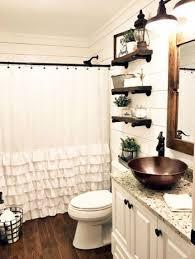 Perfect farmhouse bathroom remodel ideas Master Bathroom 34 Perfect Farmhouse Bathroom Vanity Ideas To Maximize Space Pinterest 34 Perfect Farmhouse Bathroom Vanity Ideas To Maximize Space