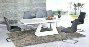glass dining table and chairs dining table and 6 chairs impressive white table chairs white glass dining table