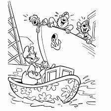 Kleurplaat Boot Luxe Duck Kleurplaten Fris Donald Duck Kleurplaat