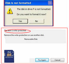 when an sd card reports any error you have two things to do namely recover data from the card and fix the error so as to use the sd card again