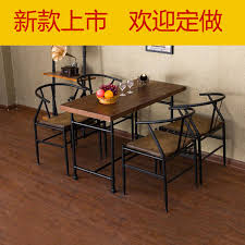 Yong American furniture solid wood dining tables and chairs