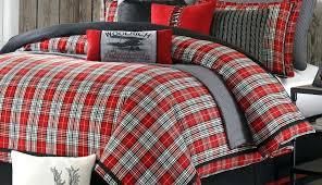 duds bedding new full heavyweight flannel sheet set red khaki plaid cotton cuddl comforter grey plaid comforter set duds red flannel cuddl