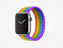 Imagining the Pride 2021 Braided Solo Loop : AppleWatch