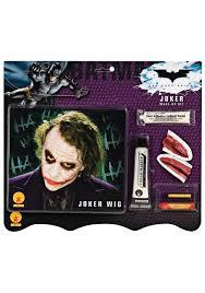 deluxe joker wig makeup kit