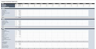 Sample Nonprofit Budget Worksheet Business Excel Spreadsheet