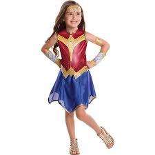Girls Wonder Woman Costume   Walmart.com