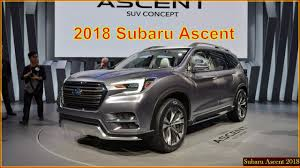 2018 subaru ascent. interesting 2018 subaru ascent 2018  suv interior exterior concept to subaru ascent