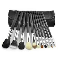 11pcs best makeup brush sets high end makeup brush sets
