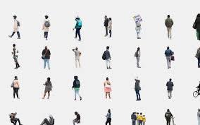 architecture people. Cutout People 2017 Architecture Visualizing