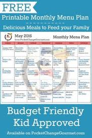 weekly meal plans on a budget 174 best menu planning images on pinterest in 2019 weekly meal
