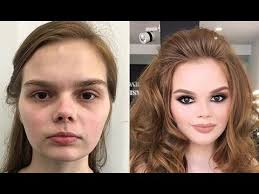 before after makeup transformation power of makeup