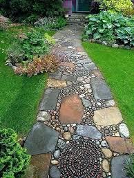 stepping stone walkway ideas garden paths with stepping stones brilliant  ideas for stone pathways in your
