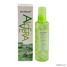 kiss beauty aloe vera makeup fix 220ml