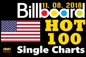 Billboard Charts 2018 Va Billboard Hot 100 Singles Chart 11 08 2018 Wolvescall