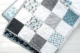 Simple Baby Blanket Patterns To Sew Easy Baby Quilts Patterns For ... & ... Easy Baby Blankets To Sew Simple Pattern For A Baby Quilt On  Polkadotchaircom Easy Chevron Baby ... Adamdwight.com