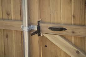 outdoor gate locks