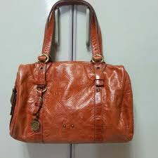 francesco biasia full leather tote shoulder bag handbag retail 230