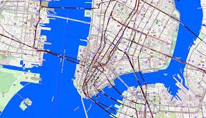 city maps new york