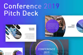 Free Conference Pitch Deck Powerpoint Template Creativetacos