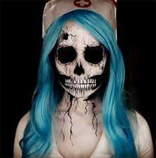 terrifyingly creative halloween makeup ideas to try halloween  50 terrifyingly creative halloween makeup ideas to try scary halloween makeup ideashalloween stories
