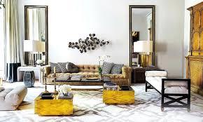 earth tone decor rooms metal elegant clock sets white pattern comfy sofa living  room red hanging