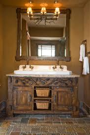 log cabin bathroom vanities