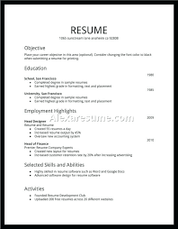 Simple Job Resume Template Impressive Simple Job Application Letter With Resume A Example Format Basic