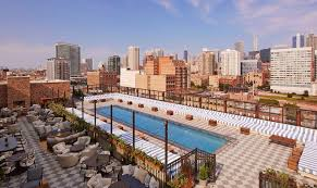 hotel outdoor pool. Soho House Chicago Hotel Outdoor Pool