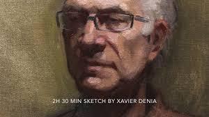 portrait oil painting i