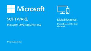 Buy Microsoft Office 365 Personal Digital Download 1 Year