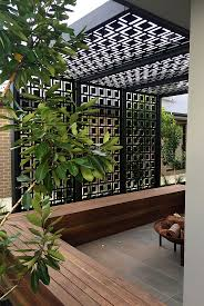 Patio Privacy Fence Best 25 Outdoor Privacy Screens Ideas Only On Pinterest Patio