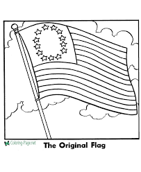 Use our printable flag coloring pages to print many world and us flags: American Flag Coloring Pages