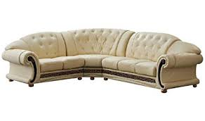 leather sectional sofa traditional. Delighful Traditional Versace Beige Leather Sectional Sofa In Traditional Style On O