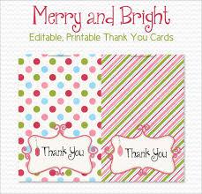 Free Printable Thank You Postcards 15 Holiday Thank You Cards Free Printable Psd Pdf Eps