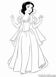 Principesse Da Stampare E Colorare Disegni Da Colorare Principessa