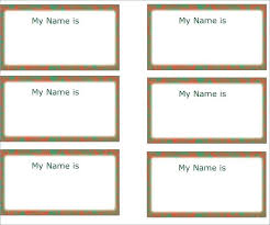 Avery Templates 5390 Avery Name Badge Template Mytv Pw