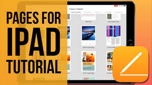 pages for ipad tutorial 2019 you
