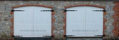 bespoke wooden garage doors