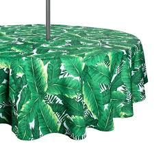 umbrella tablecloth with zipper small banana leaf outdoor umbrella tablecloth with zipper round umbrella tablecloth with