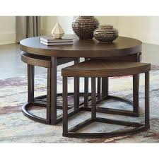 lizeth coffee table with 4 nested