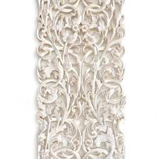 thai wood carving wall art hanging