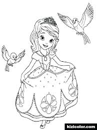 Sofia The First Coloring Pages Mermaid Coloring Pages Of The First